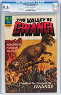 Silver Age (1956-1969):Horror, Movie Classics: The Valley of Gwangi #nn (Dell, 1969) CGC NM+ 9.6Off-white to white pages....