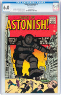 Silver Age (1956-1969):Mystery, Tales to Astonish #3 (Marvel, 1959) CGC FN 6.0 Off-white pages....