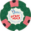 Miscellaneous:Gaming Chips, Las Vegas Casinos: Dunes $25 Chip....