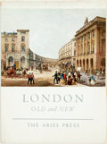 Books:Art & Architecture, John Cadfryn-Roberts, editor. London. Old and New. London: Ariel, [1960]. With plates featuring watercolors by J...