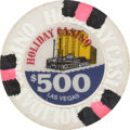 Miscellaneous:Gaming Chips, Las Vegas Casinos: $500 Holiday International Chip....