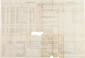 Autographs:Military Figures, George Armstrong Custer: Signed 1870 Muster and Pay Roll Document....