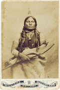 Photography:Cabinet Photos, Chief Gall: An Uncommon Cabinet Photo...