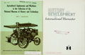 Books:Americana & American History, [Agriculture]. Pair of Publications about the History ofAgricultural Development. Sources for American Heritagearticle...