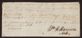 Autographs:U.S. Presidents, [Northwest Indian War]. William Henry Harrison Document Signed...