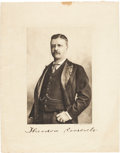 Autographs:U.S. Presidents, Theodore Roosevelt Photograph Signed....