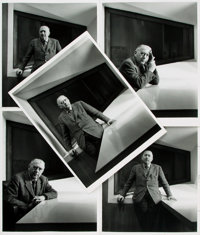 [Architecture, Photography]. Ezra Stoller. Group of Five Reprint Photographs of Marcel Breuer. Published in Summer, 1