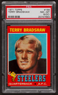 Football Cards:Singles (1970-Now), 1971 Topps Terry Bradshaw #156 PSA NM-MT 8 (OC)....