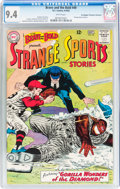 Silver Age (1956-1969):Adventure, The Brave and the Bold #49 Strange Sports Stories - Don/Maggie Thompson Collection pedigree (DC, 1963) CGC NM 9.4 White pages....
