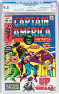 Bronze Age (1970-1979):Superhero, Captain America #130 Don/Maggie Thompson Collection pedigree (Marvel, 1970) CGC NM/MT 9.8 White pages....