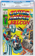 Bronze Age (1970-1979):Superhero, Captain America #141 Don/Maggie Thompson Collection pedigree (Marvel, 1971) CGC NM/MT 9.8 White pages....