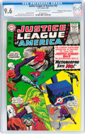 Silver Age (1956-1969):Superhero, Justice League of America #42 Don/Maggie Thompson Collection pedigree (DC, 1966) CGC NM+ 9.6 Off-white to white pages....