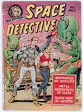 Golden Age (1938-1955):Science Fiction, Space Detective #2 (Avon, 1951) Condition: GD....