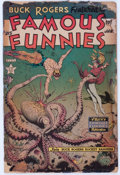 Golden Age (1938-1955):Science Fiction, Famous Funnies #215 (Eastern Color, 1955) Condition: FR....