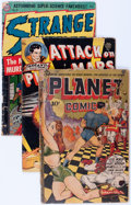 Golden Age (1938-1955):Science Fiction, Comic Books - Assorted Golden Age Science Fiction Comics Group(Various Publishers, 1940s-'50s) Condition: Apparent GD.... (Total:8 Comic Books)