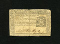 Colonial Notes:New York, New York September 2, 1775 $2 Very Fine. Repaired along ...