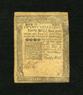 Colonial Notes:Pennsylvania, Pennsylvania May 1, 1760 20s Choice Very Fine. This piece is inincredible grade for the issue with three weak but visible s...