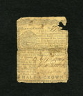 Colonial Notes:Pennsylvania, Pennsylvania March 10, 1769 2s/6d Good. This half crown note hasbeen repaired with contemporary materials and it has a miss...