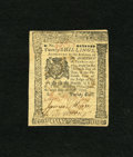 Colonial Notes:Pennsylvania, Pennsylvania July 20, 1775 20s Very Fine. This is the firstappearance of this denomination from this issue in any of our in...