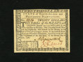 Colonial Notes:Rhode Island, Rhode Island July 2, 1780 $20 New. An otherwise lovely Choice Newnote which has a piece of tape over the top portion of the...