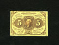 Fractional Currency:First Issue, Fr. 1228 5c First Issue Gem New. This is one of the nicest qualityperforated notes your cataloger has had the pleasure of v...