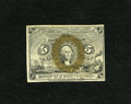 Fractional Currency:Second Issue, Fr. 1232 5c Second Issue Choice New. Nice bronzing is found on this example....