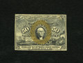Fractional Currency:Second Issue, Fr. 1314SP 50c Narrow Margin Specimen Face Second Issue Very Choice New. A smaller left margin is all that keeps this bright...