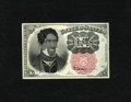 Fractional Currency:Fifth Issue, Fr. 1266 10c Fifth Issue New. A great satire note where the artisthas painted an Afro-American over the host portrait of Wi...