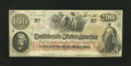 Confederate Notes:1862 Issues, T41 $100 1862. This is an attractive Scroll 2 note. CrispUncirculated....