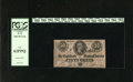 Confederate Notes:1864 Issues, T72 50 Cents 1864. The margins account for the grade on this Confederate Fractional. PCGS New 62PPQ....
