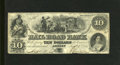 Obsoletes By State:Michigan, Adrian, MI- Erie and Kalamazoo Rail Road Bank. $10 Jan. 2, 1854. This scarcer Michigan Obsolete has a small edge nick below ...