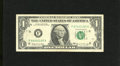 Error Notes:Mismatched Serial Numbers, Fr. 1903-F $1 1969 Federal Reserve Note. Very Fine. This is an example of the F68/67 serial number mismatch....