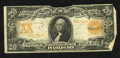 "Large Size:Gold Certificates, Fr. 1185 $20 1906 Gold Certificate Very Good-Fine. Some edge furling and a pencilled ""525"" is found on this scarcer Friedber..."