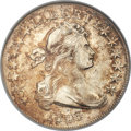 Early Half Dollars, 1803 50C Small 3, Large Reverse Stars, O-104, R.3, AU53 ANACS....