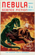 Books:Pulps, [Pulps]. Issue of Nebula Science Fiction. 1959. Octavo. Original wrappers. Mild edgewear and foxing. Very good. . ...