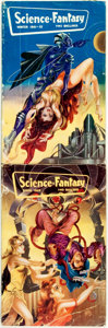 Books:Pulps, [Pulps]. Two Issues of Science-Fantasy. 1952. Octavos. Somerubbing and edgewear. Very good. . ...