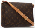 Luxury Accessories:Bags, Louis Vuitton Classic Monogram Canvas Musette Tango Shoulder Bag ....