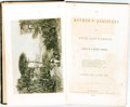 Books:Periodicals, [Bound Periodical]. William C. Brown, editor. The Mother'sAssistant and Young Lady's Friend. Boston: William C. Bro...