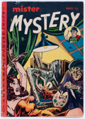 Golden Age (1938-1955):Horror, Mister Mystery #4 (Aragon, 1952) Condition: GD+....
