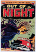 Golden Age (1938-1955):Horror, Out of the Night #1 (ACG, 1952) Condition: VG....