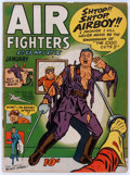 Golden Age (1938-1955):War, Air Fighters Comics V2#4 (Hillman Fall, 1944) Condition: VG-....