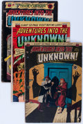 Golden Age (1938-1955):Horror, Adventures Into The Unknown Group (ACG, 1950-54) Condition: AverageGD.... (Total: 10 Comic Books)