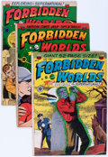 Golden Age (1938-1955):Horror, Forbidden Worlds Group (ACG, 1951-53) Condition: Average GD/VG....(Total: 8 Comic Books)