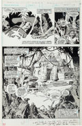 Original Comic Art:Splash Pages, John Buscema and Tony DeZuniga Savage Sword of Conan #40Half-Splash Page 27 Original Art (Marvel, 1979).. ...
