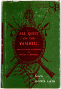 Books:Americana & American History, [Civil War]. Royal A. Bensell. All Quiet on the Yamhill. TheCivil War in Oregon. Eugene: University of Oregon Books...