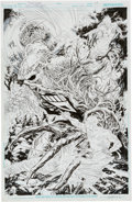 Original Comic Art:Splash Pages, Ivan Reis Brightest Day #23 Splash Page 19 Original Art (DC,2011)....