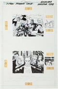 Original Comic Art:Illustrations, Jim Lee X-Men Trading Cards Series I - Excalibur/HellfireClub Original Art (Marvel-Impel, 1992). ...