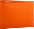 "Luxury Accessories:Bags, Hermes 40cm Orange H Swift Leather Document Holder with PalladiumHardware. Excellent Condition. 15.5"" Width x 10.5""H..."