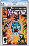 Modern Age (1980-Present):Superhero, X-Factor #6 (Marvel, 1986) CGC NM/MT 9.8 White pages....