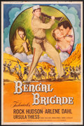 "Movie Posters:Adventure, Bengal Brigade & Other Lot (Universal International, 1954).Posters (2) (40"" X 60"") Style Y & Regular. Adventure.. ...(Total: 2 Items)"